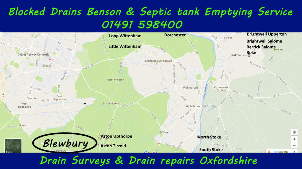 Blocked drains and Septic tank Emptying Little Wittenham