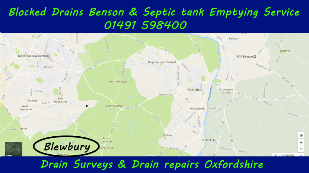 Blocked Drains Blewbury and Septic Tank Emptying