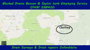 Blocked drains and drain unblocking Cholsey