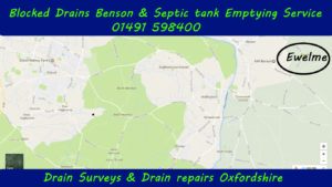 Blocked drains and septic tank emptying Ewelme