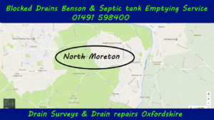 Blocked drains and septic tank emptying North Moreton