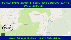 Blocked Drains Upton and septic tank emptying