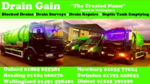 Blocked drains oxford Reading Newbury Swindon