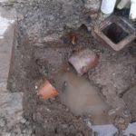 Domestic water main repair